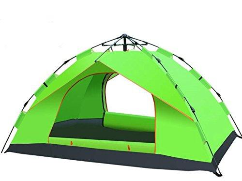 YOPEEN 2-4 Persona Ultralight Large Camping Tenda impermeabile impermeabile Tenda esterna automatica idraulica, 1 confezione