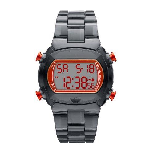 adidas ADH6510 - Reloj de cuarzo para hombre, con correa de plástico, color negro