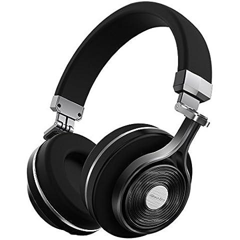 Bluedio T3 ( Turbine 3rd ) auriculares bluetooth de diadema cascos inalámbricos plegables con microfono efecto 3d estereo ( Negro )