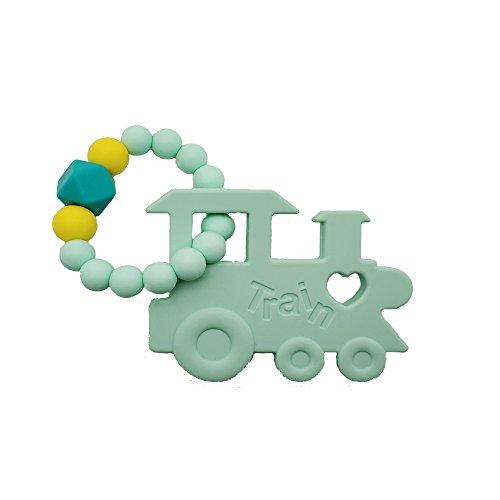 INCHANT Silikon Beißring Ring für Baby-Säugling-und Kleinkind-weich hygienisches Silikon Spielzeug, Grad-Silikon BPA-frei & Gefiermaschinefest Silikonarmband - Sore Gums Schmerzlinderung Gum Massage (Zahnen Baby-schnelle Schmerzlinderung)