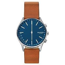 Skagen Herren-Smartwatch mit Leder Armband SKT1306