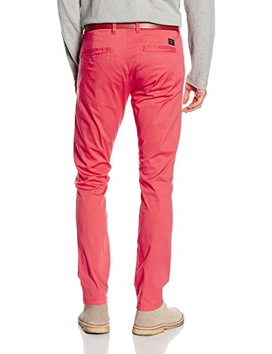 SELECTED HOMME Herren Hose Shhyard Spiced Coral Slim St Pants Rosa (Spiced Coral)