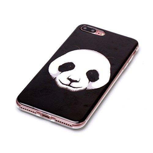 Per iPhone 7 Plus / iPhone 8 Plus Cover , YIGA rosa Cravatta di arco Cristallo Silicone Morbido TPU Case Shell Caso Protezione Custodia per Apple iPhone 7 Plus / iPhone 8 Plus (5,5 pollici) B6
