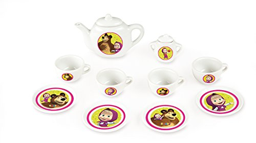Smoby 310514 - Mascha Porzellan Kaffee Geschirrset