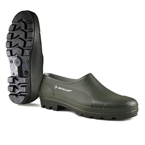 Dunlop PVC-Clog in grün, 38