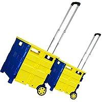 Multifuncional plegable varilla telescópica portátil carrito de la compra montañismo carro de almacenamiento cesta de equipaje