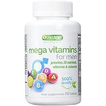 Quamtrax Nutrition MegaVitamins para Hombre - 60 Cápsulas