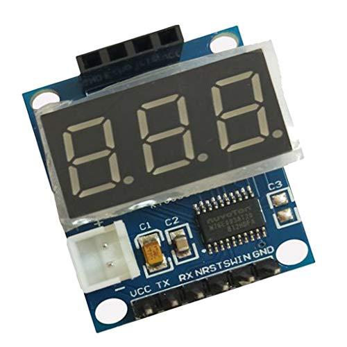 Ultrasonidos Detector De Rango Tablero Con Pantalla LCD Digital Sensor De