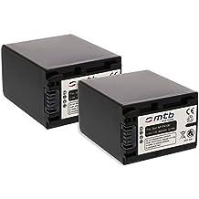 2x Batería NP-FV100 para Sony HDR-CX180, CX190, CX200, CX210, CX300, DR-CX305, CX350... (ver descripción)