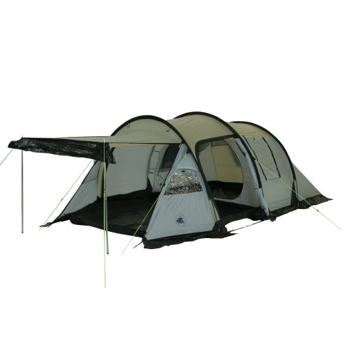 10T Zelt Felton 3 Mann Tunnelzelt wasserdichtes Campingzelt 5000 mm Trekkingzelt Vorraum & 5 Fenster