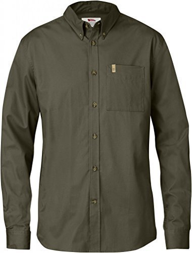 Fjällräven Övik Solid Twill Shirt Long Sleeve - Outdoorhemd