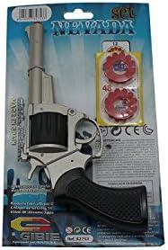Acan - Pistola de petardos con 48 recargas
