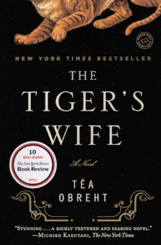 Book cover for The Tiger's Wife
