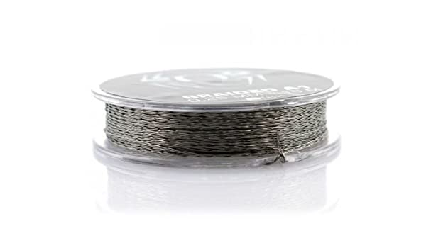 Braided Kanthal A1 30G - 0,25mm Draht: Amazon.de: Drogerie ...