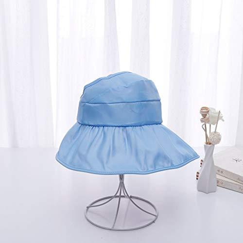 Abbigl Pentole e padelle Fenical Cappello Estivo per Bambini Cappello con Visiera Larga Visiera Protettiva Protezione per Il Sole Visiera Larga con Visiera Ampia 48-54cm, Rosa, Adatto per 2-8 Anni