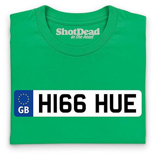 LRO Hue Number Plate T-Shirt, Herren Keltisch-Grn