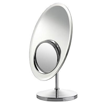 Standspiegel 30,5 x 20cm verchromt Vergrößerungsspiegel Kosmetikspiegel Bad #632 von Bad u. WC - Spiegel Online Shop