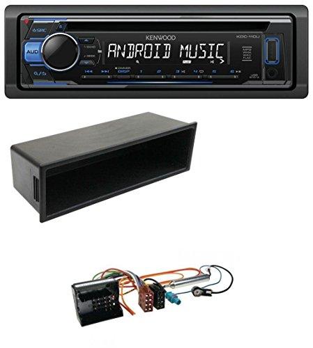 Kenwood KDC-110UB 1DIN MP3 USB CD AUX Autoradio für Citroen Berlingo C2 C3 Jumpy