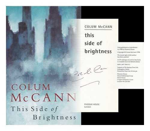 This side of brightness / Colum McCann