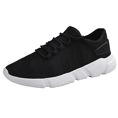 Elecenty scarpa da uomo alla moda da uomo, scarpe da ginnastica sneakers respirabile mesh basse sportive outdoor tennis running