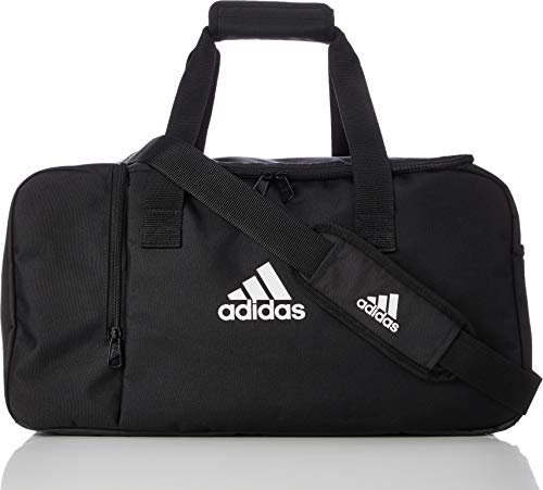 adidas TIRO DU S Gym Bag, Black/White, One Size -