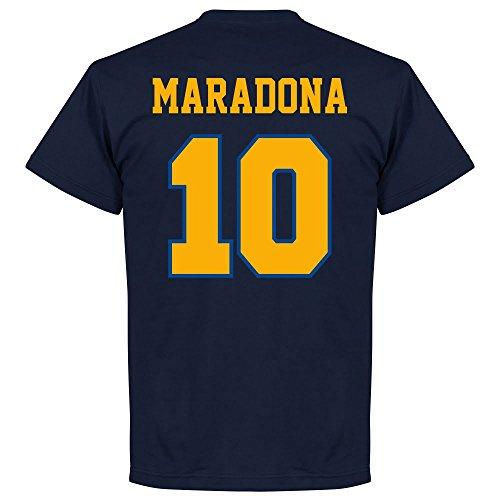 Boca Maradona 10 CABJ Crest T-Shirt - navy - M