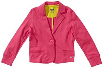 TOM TAILOR Kids Pull Manches longues Fille - Rose foncé - Pink (5418  candy pink) - FR : 24 mois (Taille fabricant : 92/98)