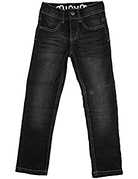 Minymo Mädchen Jeans, Hoher Bund, Leichte Waschung, 3730
