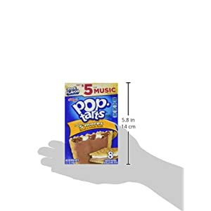 41ocNWDOjML. SS300  - Kellogg's Frosted S'mores Pop Tarts 416g