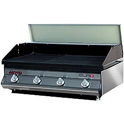Dolcevita BBQ BDE4AV Barbecue a Gas con Valvola di Sicurezza da Incasso