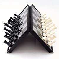Recoproqfje Magnetic Travel Chess Set Folding Board Educational Toy Family Game