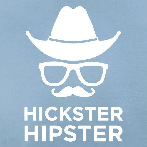 Hickster Hipster - Herren T-Shirt - 13 Farben Himmelblau