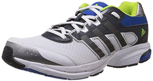 adidas - Zapatillas para correr en montaña para hombre, - weiss/blau/silb, UK 10 / EU 44 2/3