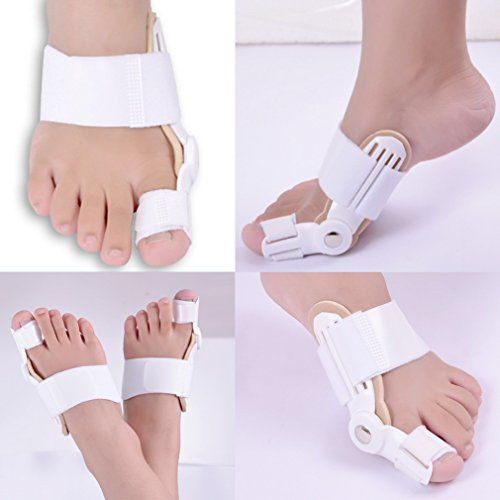 Jern Toe Straightener Bunion Splint Movable, Protection And Correction For Feet Affected