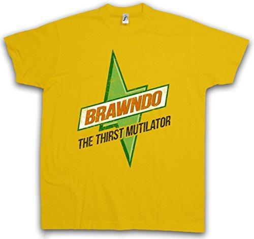 Urban Backwoods Brawndo T-Shirt - Taglie S – 5XL Giallo