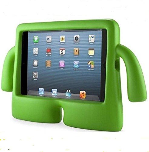 """Funda para Tablet 10,1"""" para NIÑOS Goma iBuy iGuy Compatible con Modelos N8000/P7500/P600/TAB 3/P5210/P5200/TAB 4/T530/T531 (Verde)"""