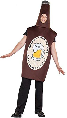 Kostüm Bierflasche - Besttoy Kostüme Kostüm - Bierflasche - für Erwachsene