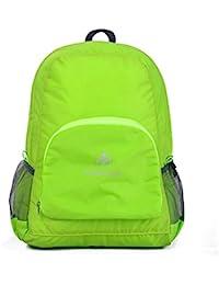 hongrun Outdoor Sports Ultra Lightweight Portable Folding Package Men and Women Double Shoulder Bag Waterproof Package Outdoor…