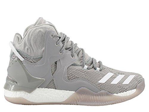 adidas Herren D Rose 7 Basketballschuhe Gris (Brgrin / Ftwbla / Grpumg)