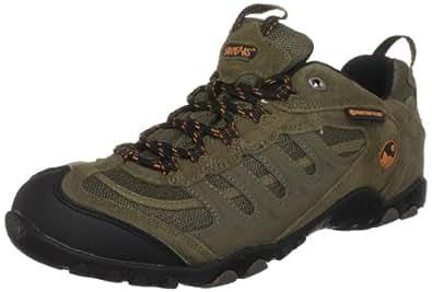 Hi-Tec Penrith Waterproof, Men's Walking Shoes, Smokey Brown/Taupe/Burnt Orange, 12 UK
