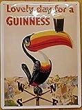 Blechschild Guinness Lovely Day for a Guinness Dorf