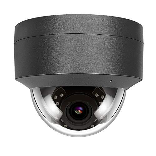 5MP HD POE IP Kamera Outdoor, IP Überwachungskamera 108° weiter Betrachtungswinkel IR Nachtsicht wasserdicht,Bewegungserkennung Support Onvif Hikvision kompatibel