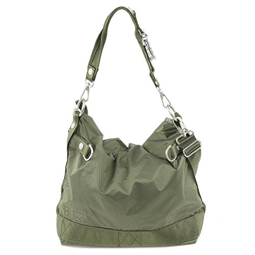 George Gina & Lucy Basic Nylon 100 Peaches Bolso de hobo oliva