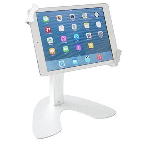 System-S Universal Abschließbarer Aluminium Präsentations Messe Ständer Stand Mount Tisch Halterung für Tablet PC´s von 9.7-12 Zoll -