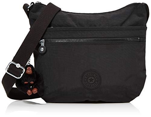 Kipling Basic Eyes Wide Open Arto Shoulderbag Tasche True Black Schwarz Neu