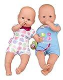 Nenuco de Famosa 700015451 Twins Babypuppen, Mehrfarbig