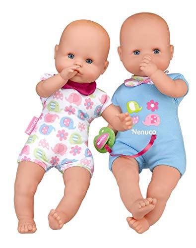 Nenuco Twins Muñecos bebés Hermanos Gemelos niñas