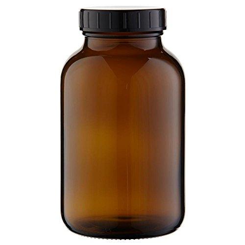 3 x Weithalsflasche 1000ml Braunglas inkl. Schraubverschluss mit Dichtungsscheibe *** Weithalsflaschen, Schraubgläser, Weithalsgläser, Braunglasflaschen, Glasdosen, Allzweckgläser, Haushaltsgläser, Weithalsglas, Schraubglas, Allzweckglas, Haushaltsglas, 1 Liter, 1l, 1000 ml, 1Liter *** -