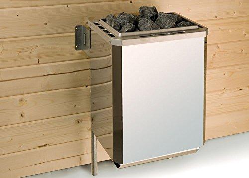 Saunaofenset 2 - 7,5 kW OS mit Ofenanschlußkabel
