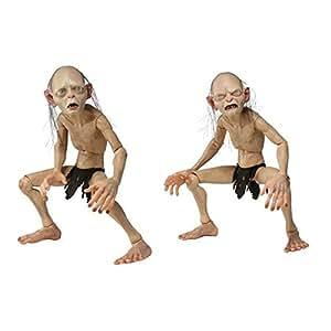 Neca - Le Seigneur des Anneaux assortiment figurines 1/4 Gollum & Smeag